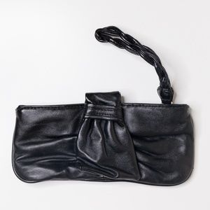 ❗️*3/$15* Express Black Faux Leather Wristlet